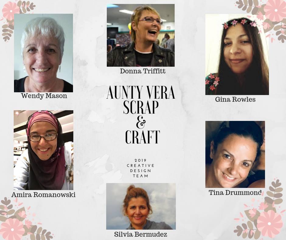 Wendy S Art Share Design Team For Aunty Vera Scrap And Craft 2019