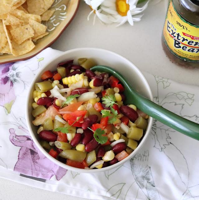 Extreme Bean Fiesta Bean Salad