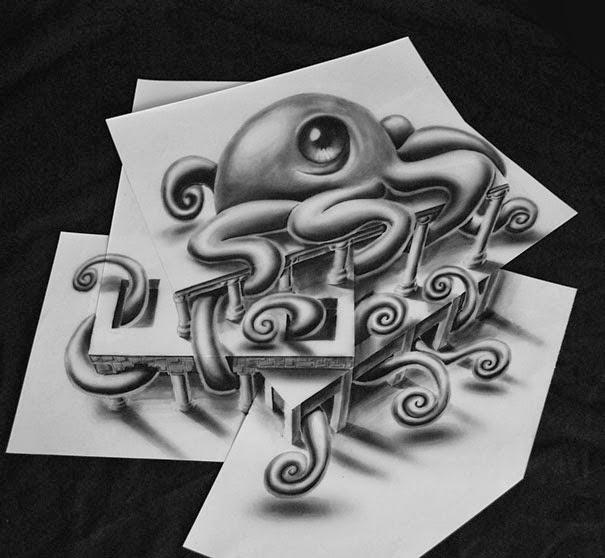 dessins-en-anamorphose-3d-de-ramon-bruin-6 Dessins en anamorphose de Ramon Bruin