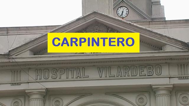 Hospital Vilardebó - CARPINTERO REGISTRO DE ASPIRANTES - ASSE