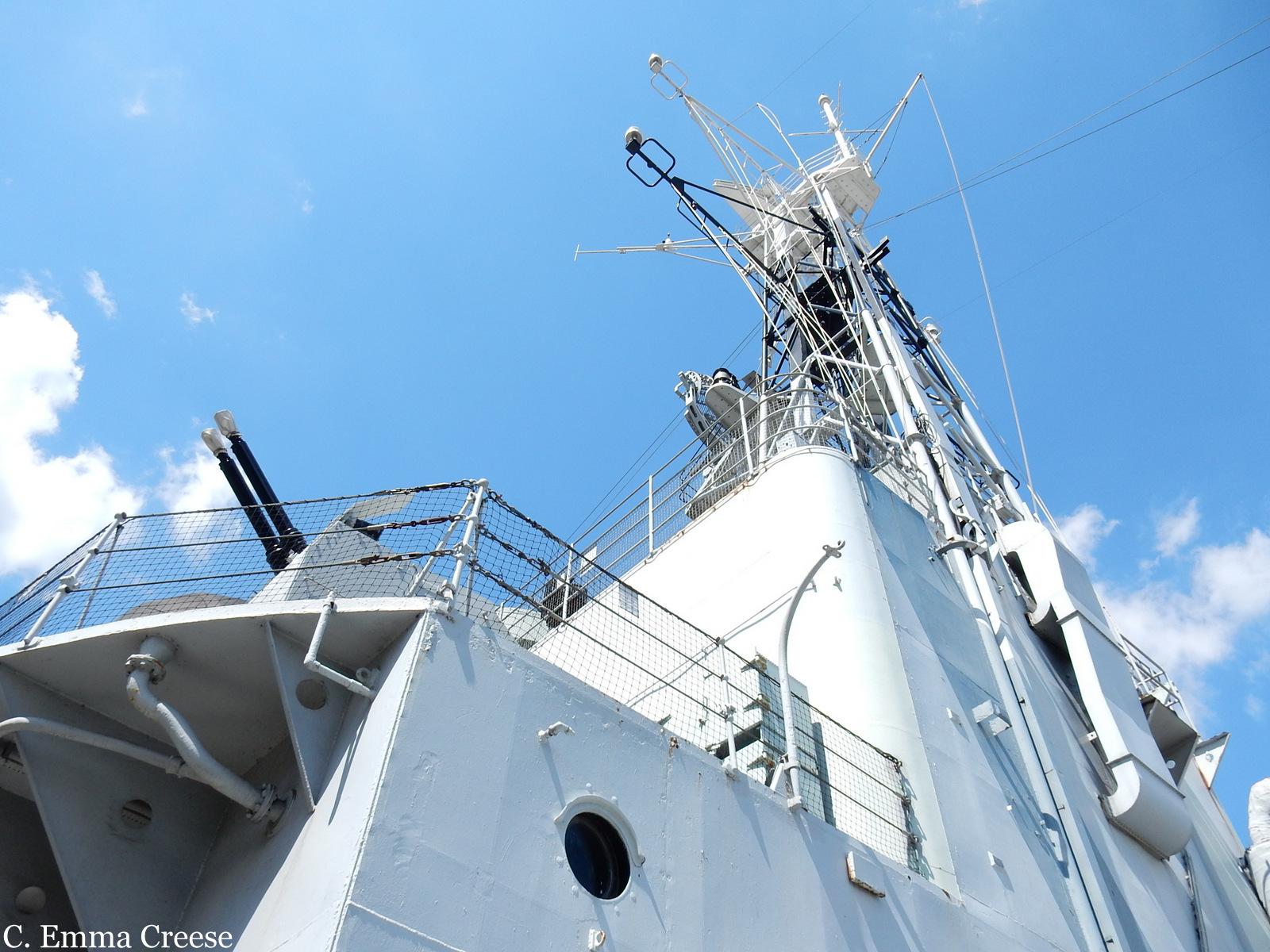 HMS Belfast Adventures of a London Kiwi