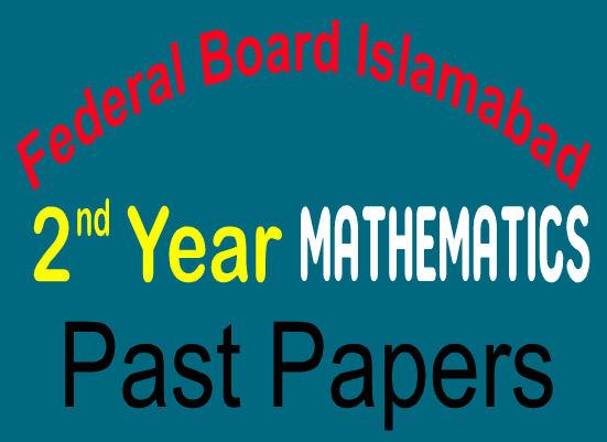 Federal Board Old Papers Mathematics