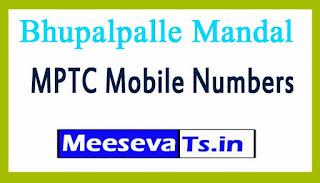 Bhupalpalle Mandal MPTC Mobile Numbers List Warangal District in Telangana State