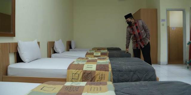 3.465 Kamar Asrama Haji Siap Jadi Ruang Isolasi Pasien Covid-19