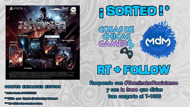 Sorteo Terminator Resistance Enhanced Edition PS5