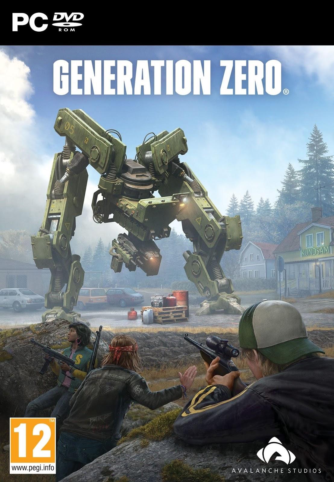 Descargar Generation Zero Challenges PC Cover Caratulas