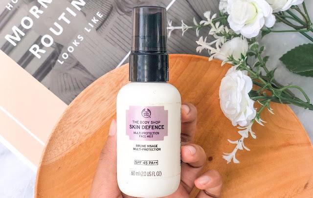 Sunscreen Spray The Body Shop