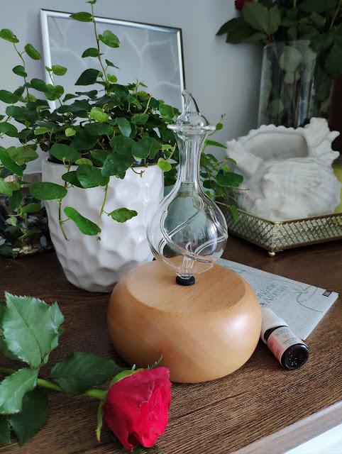 Nebulizator do olejków eterycznych lub dyfuzor nebulizujący do armaterapii od Organic Aromas