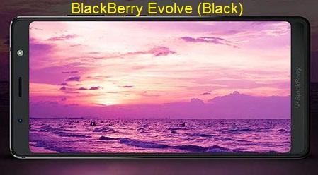 BlackBerry Evolve (Black) – Cortex-A53 Qualcomm Snapdragon 450   Dual 13MP+13MP Rear Camera   4GB/64GB