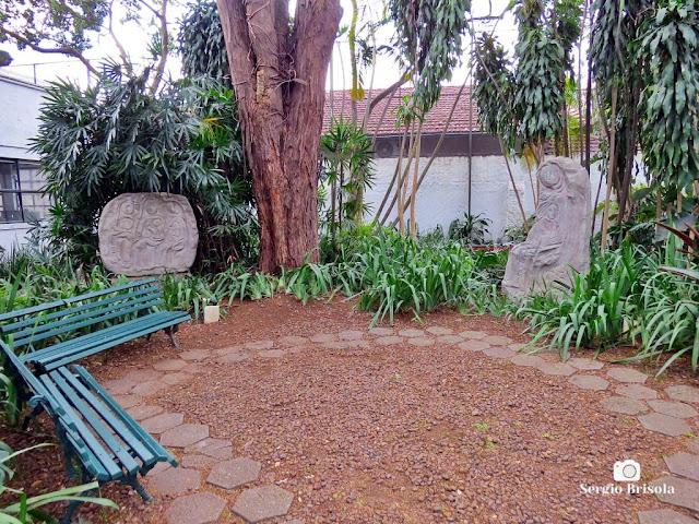Vista do Jardim do Museu Lasar Segall - Vila Mariana - São Paulo