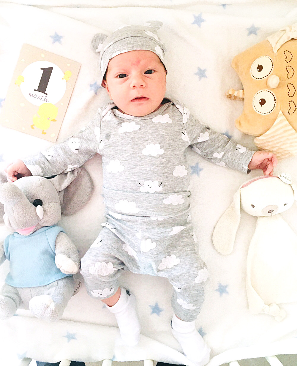 1 month old baby boy, HM kids newborn set, HM kids fashion, 1 mesec beba