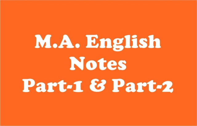 M.A. English Notes and Past Papers - Rashid Notes