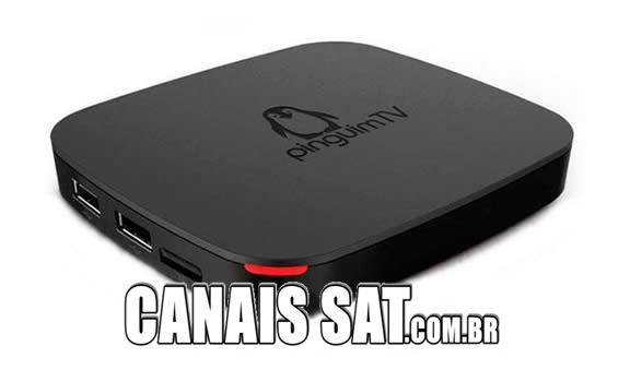 Pinguim TV Box Nova Atualização V502051 - 24/06/2020