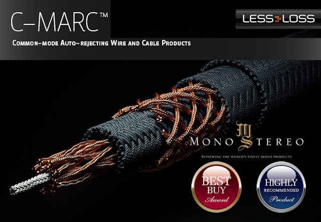 Mono and Stereo High-End Audio Magazine: LESSLOSS C-MARC CABLES REVIEW