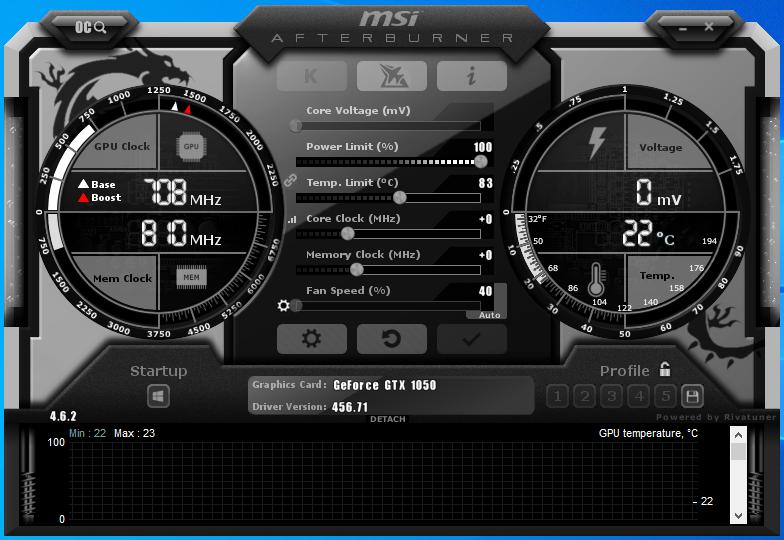 MSI Afterburner 4.6.3