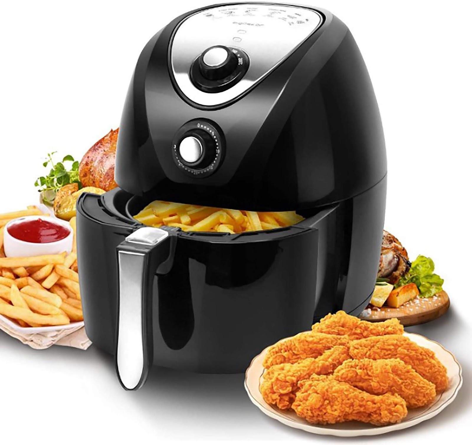 Air fryer vs Oven & Deep Fryer