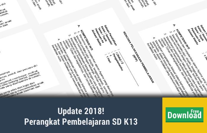 Perangkat Pembelajaran SD K13
