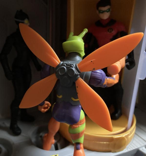 2020 Spinmaster Batman Killer Moth, Robin, Catwoman