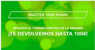 Mondobets promo Master 1000 Miami 2021