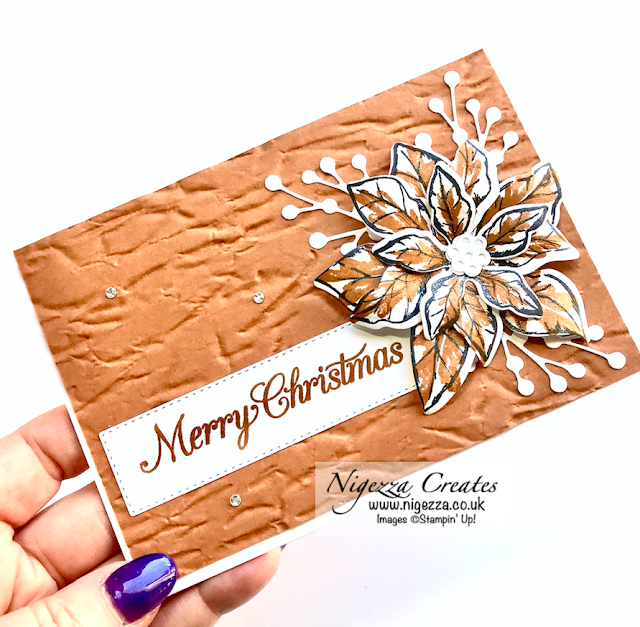 Nigezza Creates with Stampin' Up! and Poinsettia Petals