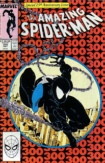 Amazing Spider-Man Issue 300 Spider-Man Black Costume Symbiote Venom David Michelinie Todd McFarlane Marvel Cover comic book