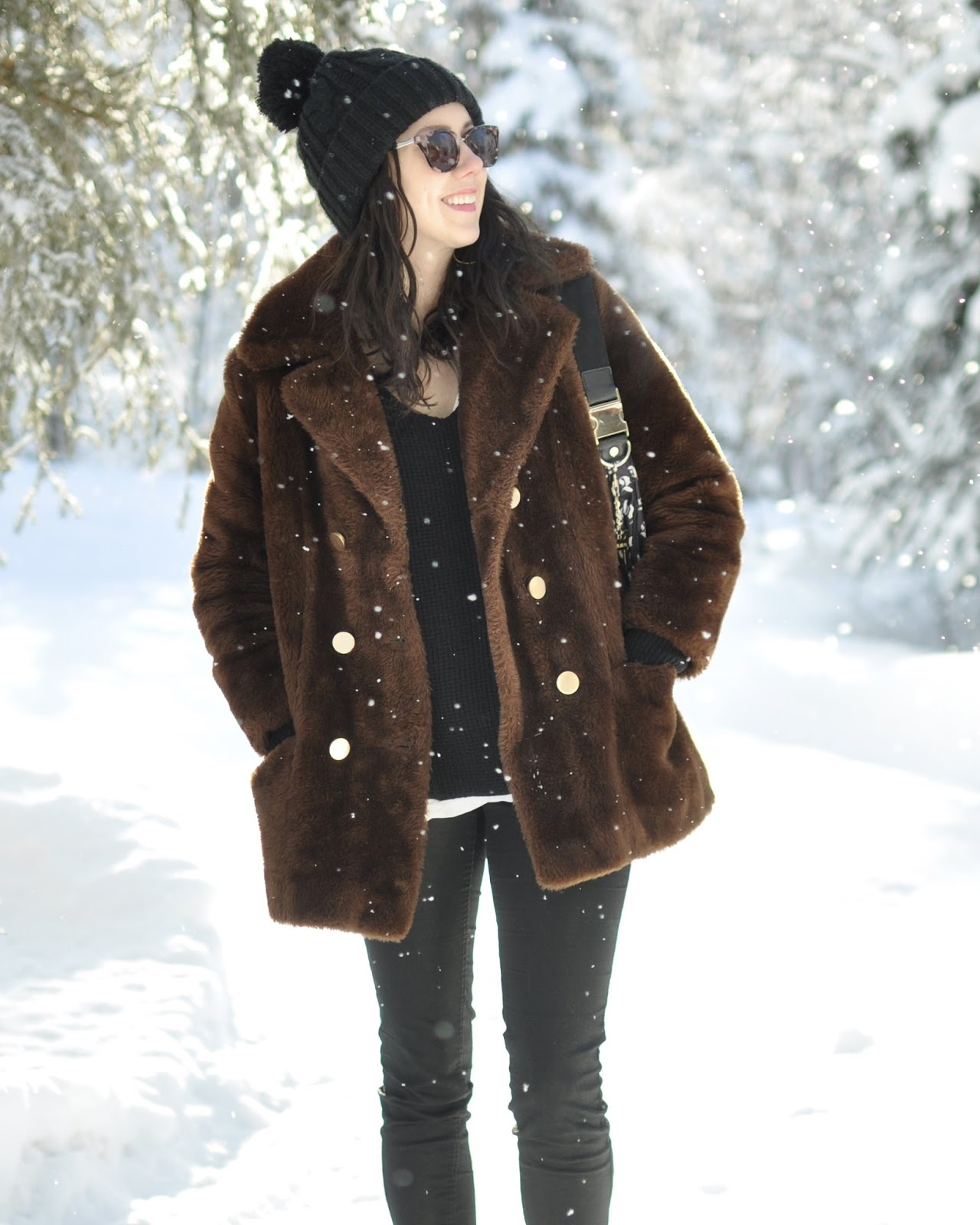Vintage thrifted Alaska style fashion outfit
