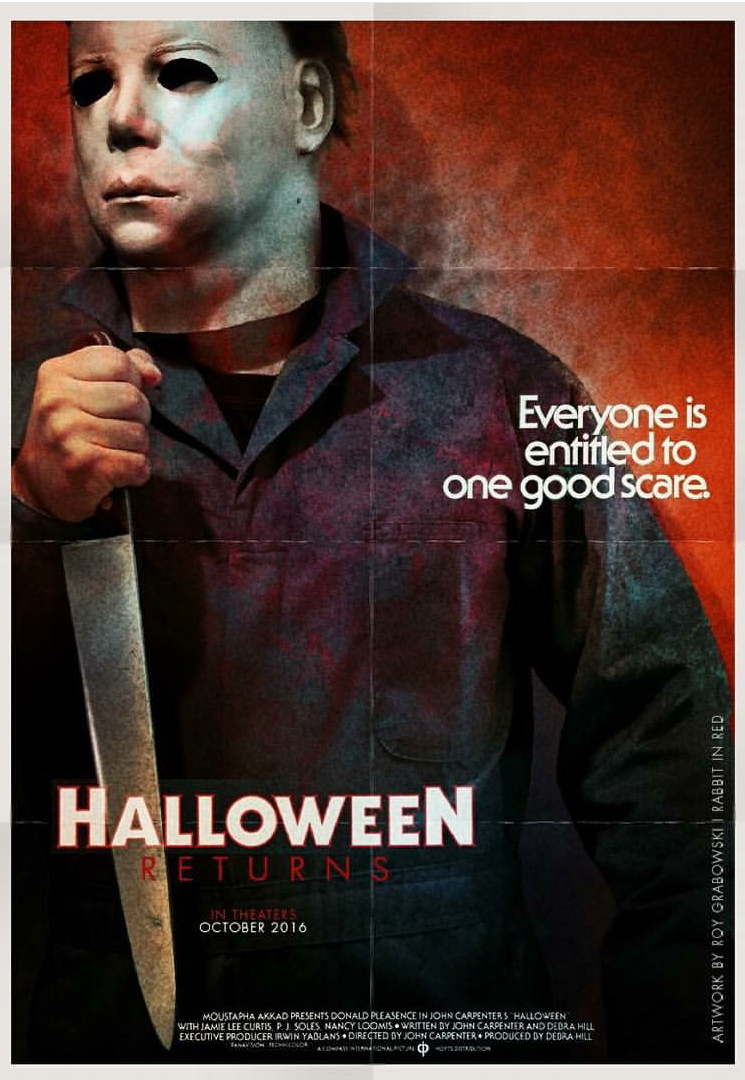 Halloween 2018 Fan Poster.Halloween Returns Fan Art Roundup 4 Halloween Daily News