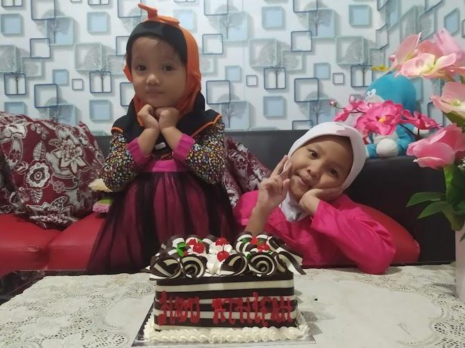 Selamat Ulang Tahun Ke Tujuh Athifah Shidqi Khalilah
