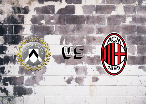 Udinese vs Milan  Resumen y Partido Completo