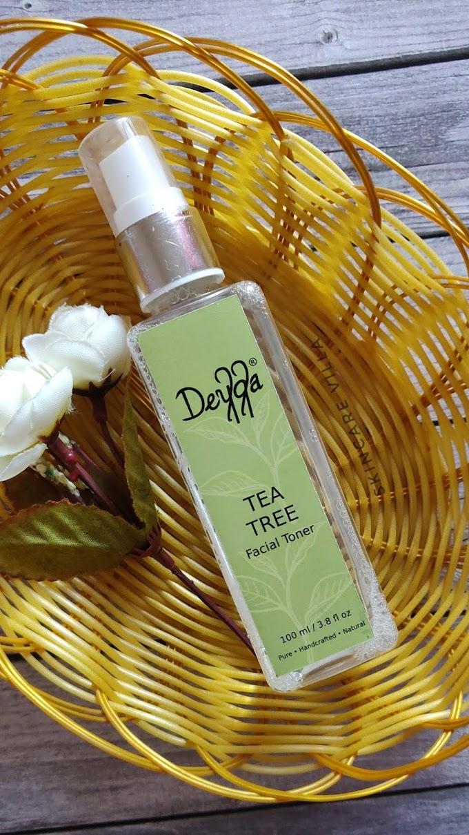 Deyga Organics Tea Tree Toner Review