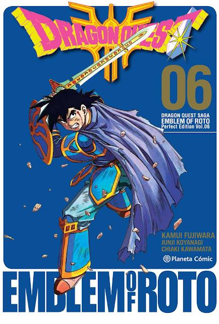 """Reseña de """"Dragon Quest: Emblem of Roto"""" vol. 6 de Kamui Fujiwara - Planeta Cómic"""