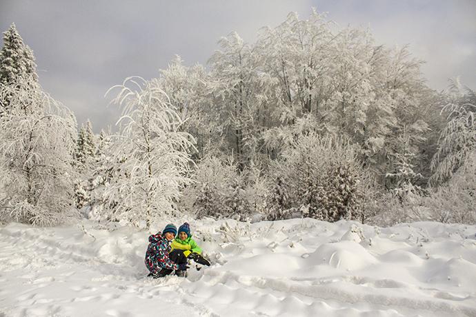 W poszukiwaniu zimy & śniegu... Szyndzielnia & Klimczok
