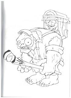 раскраски против зомби