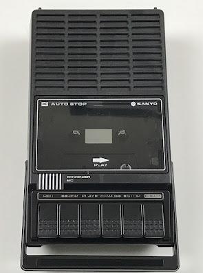 Sanyo M1540A cassette tape recorder
