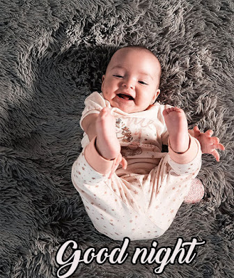cute good night images for him