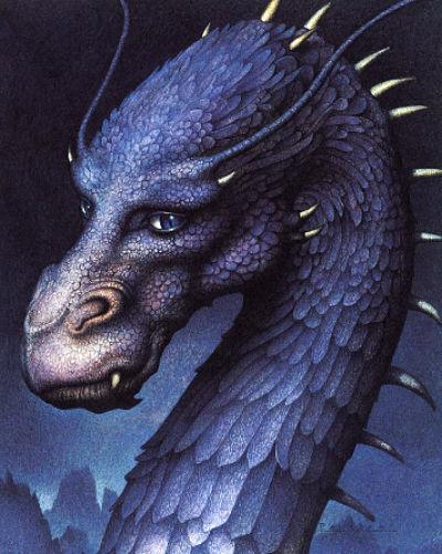 "Saphira, dragona de ""Eragon"" de Christopher Paolini"
