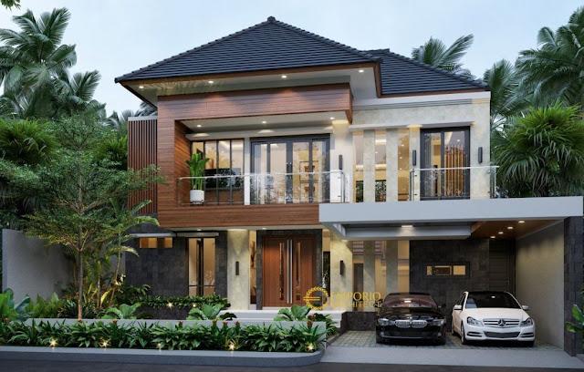 desain rumah 2 lantai sederhana dan biaya