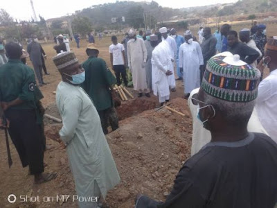 Chief of staff Abba kyari burial