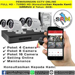 CCTV Online Sumbar Full HD 1080p s/d 8 Mp
