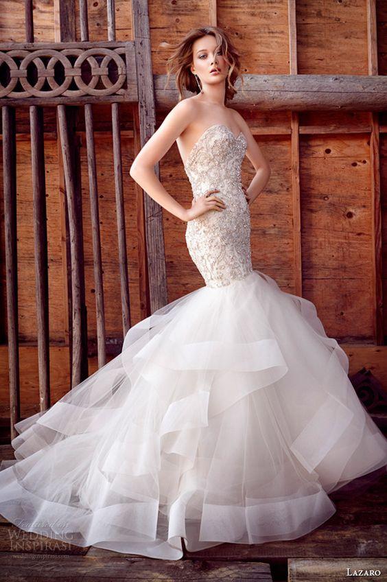 Vestidos de novia corte sirena tumblr