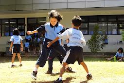 Serunya Permainan Tradisional Dalam Rangka Hari Anak Nasional di SD Labschool Unnes