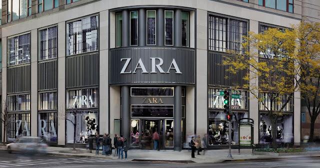 Lojas Zara em Paris