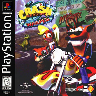Crash Bandicoot 3 Cover(capa)