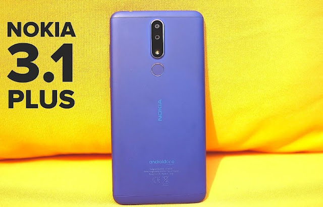 Review Nokia 3.1 Plus, Layar Besar Dengan Baterai Tahan 2 Hari