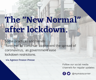 "The ""New Normal"" after lockdown."
