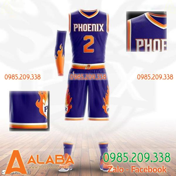Áo bóng rổ tự thiết kế độc lạ