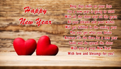 Happy new year images my love