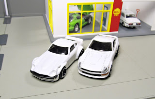 Hot Wheels Cars & Donuts Custom Datsun 240Z