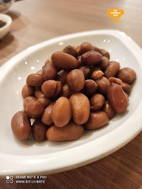 Dim Sum Menu - Braised San Tong Peanuts
