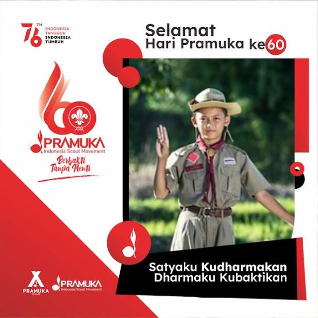 Link Twibbon Hari Pramuka Indonesia Tahun 2021